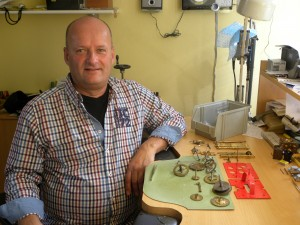 Klokkenmaker Ruud Slui
